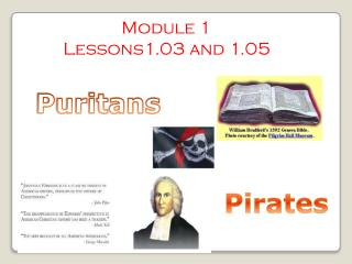 Module 1 Lessons1.03 and 1.05