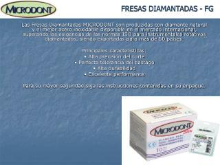FRESAS DIAMANTADAS - FG