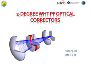 2-degree WHT PF optical correctors