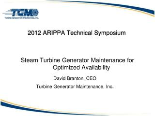 2012 ARIPPA Technical Symposium