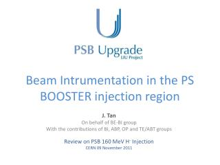 Beam  Intrumentation  in the PS BOOSTER injection region