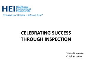 Celebrating Success Through Inspection