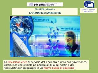 I. Conoscenza e informazione dei dati scientifici