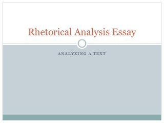 thesis process analysis must identify How to write a rhetorical analysis  identify the soapstone  indicate what that research must entail and how it would help.
