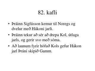 82. kafli