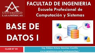 Ing. Eddye Arturo Sánchez Castillo www.ceneinnova.com/eddyesanchez/