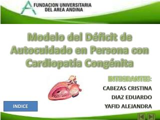 Modelo del Déficit de Autocuidado en Persona con Cardiopatía Congénita