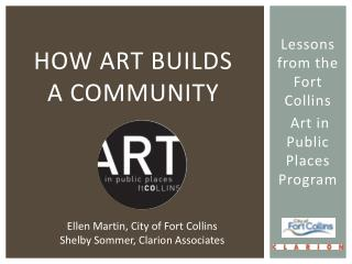 How Art Builds  a Community