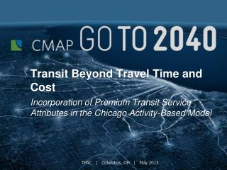 Transit Beyond Travel Time and Cost