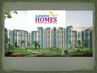 Ajnara Homes Resale Noida Extension