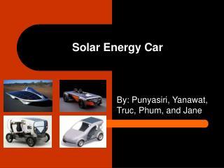 Solar Energy Car Presentation