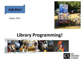 Library Programming!
