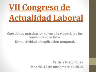VII Congreso de Actualidad Laboral