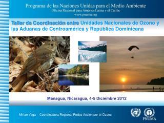 Managua, Nicaragua, 4-5 Diciembre 2012