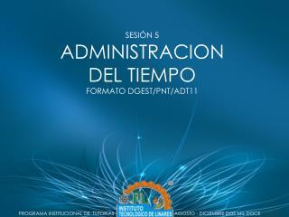 PROGRAMA INSTITUCIONAL DE  TUTORIAS