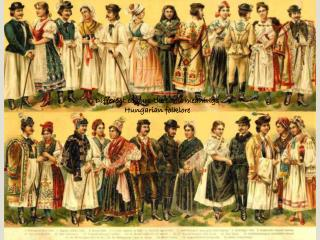 Different colours-the same meanings Hungarian folklore