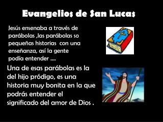 Evangelios de San Lucas