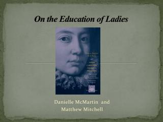 On the Education of Ladies