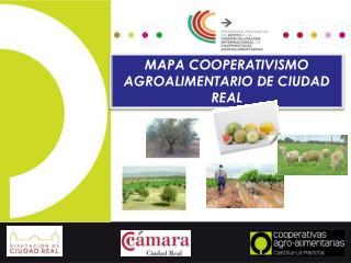 MAPA COOPERATIVISMO AGROALIMENTARIO DE CIUDAD REAL