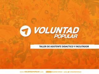 TALLER DE ASISTENTE DIDACTICO Y FACILITADOR