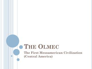 The  Olmec