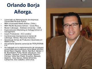 Orlando Borja Añorga.
