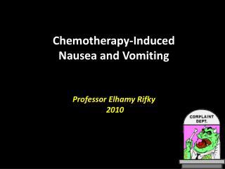 Professor Elhamy Rifky  2010