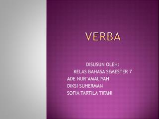 VERBA
