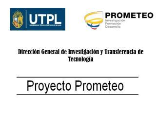 Direcci�n General de Investigaci�n y Transferencia de Tecnolog�a