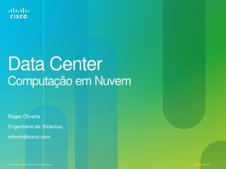 Data Center Computação em Nuvem
