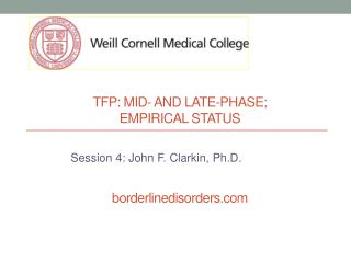 Tfp : Mid- and Late-Phase;  empirical status borderlinedisorders.com