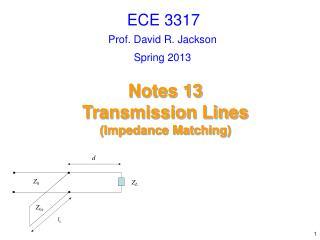 Prof. David R. Jackson