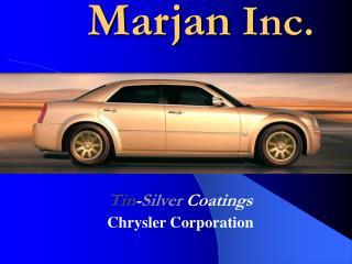 Marjan Inc.