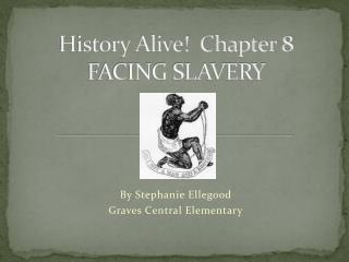 History Alive!  Chapter 8 FACING SLAVERY