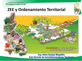 ZEE y Ordenamiento Territorial
