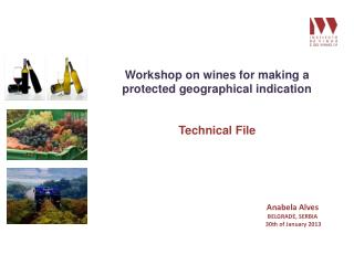 Workshop on wines for making a protected geographical indication