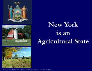 New York is an Agricultural State