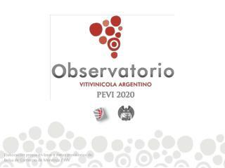 Elaboraci�n propia en base a datos provisorios de: Bolsa de Comercio de Mendoza /  INV