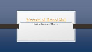 Mawasim Al Rashed Mall Hotel - Holdinn