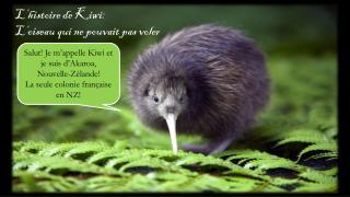 L'histoire  de Kiwi: L'oiseau  qui ne  pouvait  pas  voler