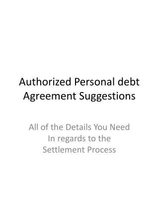 Legal Debt Settlement