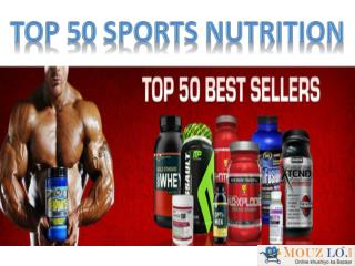 Top 50 Bodybuilding Supplements  Help To Live Healthier Life