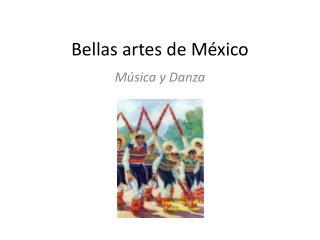 Bellas artes de México