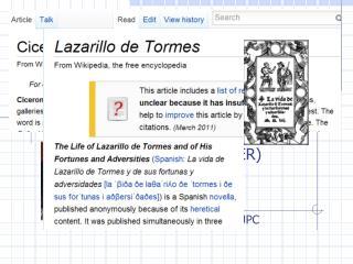 Cicerone or  Lazarillo , who decides?