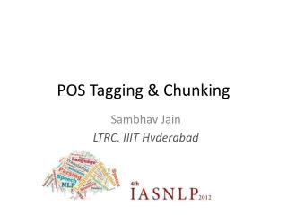 POS Tagging & Chunking
