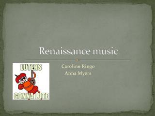 Renaissance music