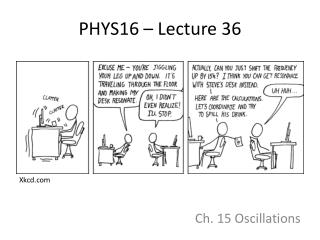 PHYS16 – Lecture 36