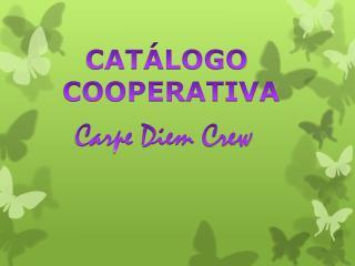 CATÁLOGO  COOPERATIVA