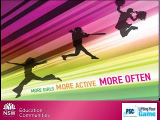 Girls in Sport more girls , more active, more often