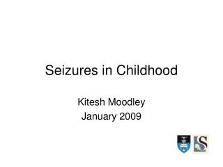 Seizures in Childhood